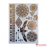 Флеш тату (Metallic Flash Tattoo) YS-48 (20*14,5)