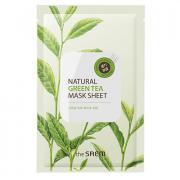 Маска тканевая с экстрактом зеленого чая natural green tea mask sheet...