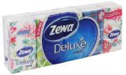 """Бумажные платочки Zewa """"Deluxe Family"""", 10 х 10 шт"""