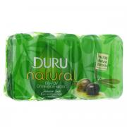 Duru NATURAL Мыло Оливковое масло э/пак 5*70г