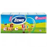 Носовые платочки «Zewa» Kids (10х10шт)