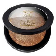Бронзирующая пудра Kiss - Make Up Bronze Glow Face & Body Bling Powder...
