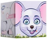 """Zewa Бумажные платочки в коробке """"Kids. Мышка"""", детские, 60 шт"""