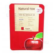 Маска THE SAEM Natural – tox apple mask sheet