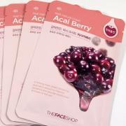 The Face Shop Тканевая маска для лица с экстрактом ягод асаи REAL...