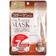 Маска Japan Gals Pure 5 Essentialc Mask c коллагеном 7 шт.