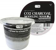 маска моделирующая с углем на основе o2 la miso маска альгинатная с...