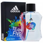 """Adidas Туалетная вода """"Team Five"""", мужская, 100 мл"""