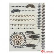 Флеш тату (Metallic Flash Tattoo) YS-33 (20*14,5)