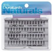 Палетки Ardell Duralash Naturals Knot-Free Flairs (Combo Pack Black)