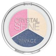 Тени для век Divage Crystal Shine Shadows (02)