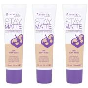 Тональный крем Rimmel Stay Matte Liquid Mousse Foundation (100)