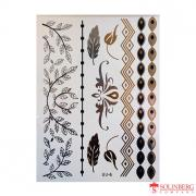 Флеш тату (Metallic Flash Tattoo) UJ-6 (20*14,5)