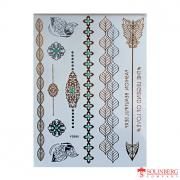 Флеш тату Metallic Flash Tattoo YS080 20*14,5