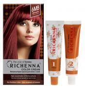 """Крем-краска для волос """"Richenna"""" с хной, 6MB. Красное дерево"""