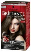 Schwarzkopf Стойкая крем-краска для волос оттенок 881 Морозный каштан,...
