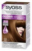 Syoss Краска для волос Gloss Sensation 6-67 Карамельный сироп, 115 мл