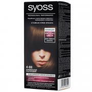 Syoss Color Краска для волос оттенок 4-88 Импульс цвета Карамельный...