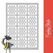 Дизайн: Трафареты для ногтей Animal planet №1