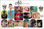 Arti: Слайдер наклейки Arti for you 32