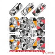 Слайдер дизайн для ногтей N-545