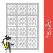 Дизайн: Трафареты для ногтей_Bricks №2