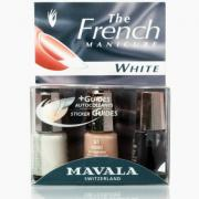 "Набор французского маникюра ""белый ноготок"" manucure french white..."