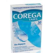 Таблетки для отбеливания зубных протезов (bio formula) corega