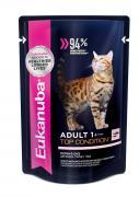 """Корм консервированный для взрослых кошек Eukanuba """"EUK Cat. Паучи"""", с..."""