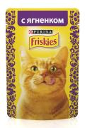 "Консервы ""Friskies Adult"" с кусочками ягненка в подливе, 85 грамм..."