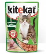 Корм Kitekat Кролик 85g для кошек 10151308