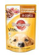 """Консервы """"Pedigree"""" для взрослых собак всех пород, с говядиной и..."""