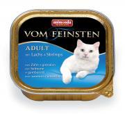 Корм Animonda Vom Feinsten Adult Лосось/Креветки 100g для кошек 83444