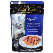 Edel Cat консервы для кошек с форелью и лососем 100 г (20 штук)