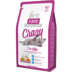 Сухой корм Brit Care Cat Crazy Kitten гипоаллергенный с курицей и...