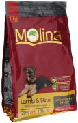 """Корм сухой Molina """"Adult Lamb & Rice"""" для собак всех пород,..."""