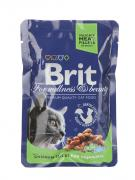 Корм Brit Chicken 100g для кошек 100310/6323