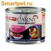 Animonda Carny Adult консервы для кошек с Индейкой и Креветками. 200гр