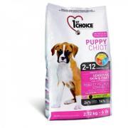 1st Choice Puppy Sensitive Skin&Coat гипоаллергенный сухой корм для...