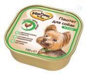 Мнямс консервы для собак с курицей 150 гр.