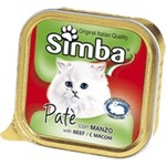 Консервы Simba Cat Pate with Meat с мясом паштет для кошек 100г
