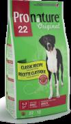 Pronature Original 22 Adult Large Breed сухой корм с ягненком для...