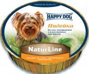 """Happy Dog Нежный паштет """"Индейка"""", сбалансированный мясной рацион, 125..."""