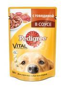 """Консервы """"Pedigree"""" для взрослых собак всех пород, с говядиной в..."""