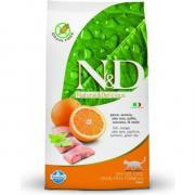 Farmina N&D Fish & Orange adult Cat сухой беззерновой корм для кошек с...