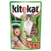Корм для кошек KiteKat кролик в соусе 100гр (24шт)