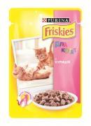 """Консервы для котят """"Friskies"""", с курицей, 100 г"""