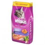 Корм для кошек Whiskas лосось тунец креветки (1.9 кг)