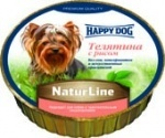 Happy dog (Хэппи Дог) Happy dog Хеппи дог паштет с телятиной и рисом...