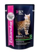 Eukanuba (Эукануба) Паучи Eukanuba Cat для взрослых кошек с говядиной...